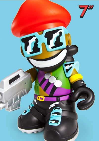 Kidrobot Major Lazer