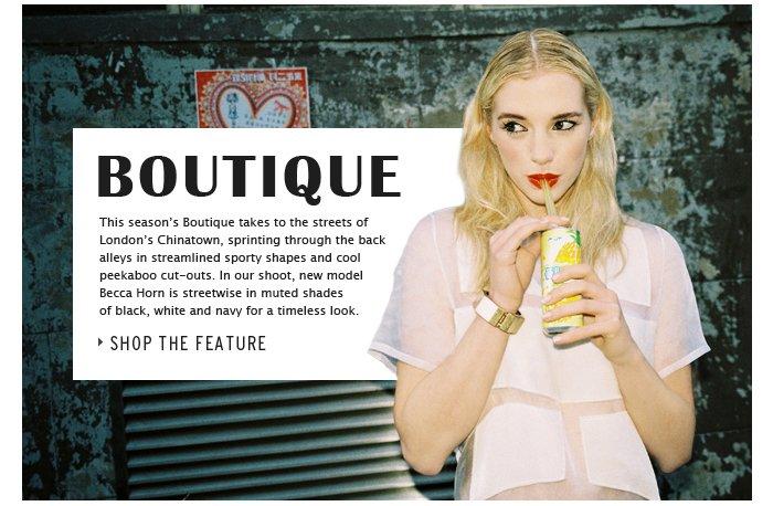 BOUTIQUE - Shop the feature