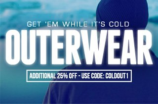 Get 'Em While It's Cold: Outerwear