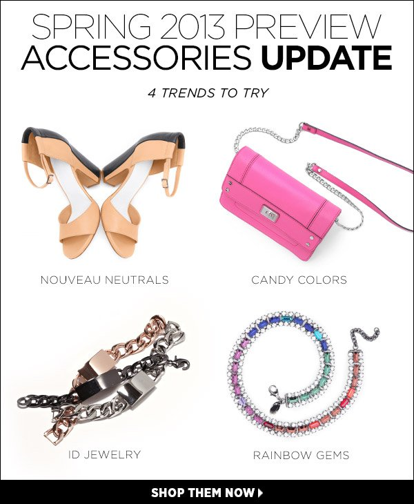 Update your look with our edit of spring's all-important accessories. Shop the accessories edit >>