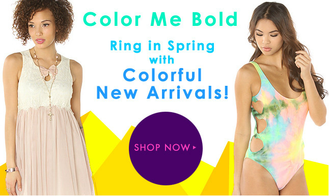 New Spring Arrivals Just in on Miss KL! Shop Today!