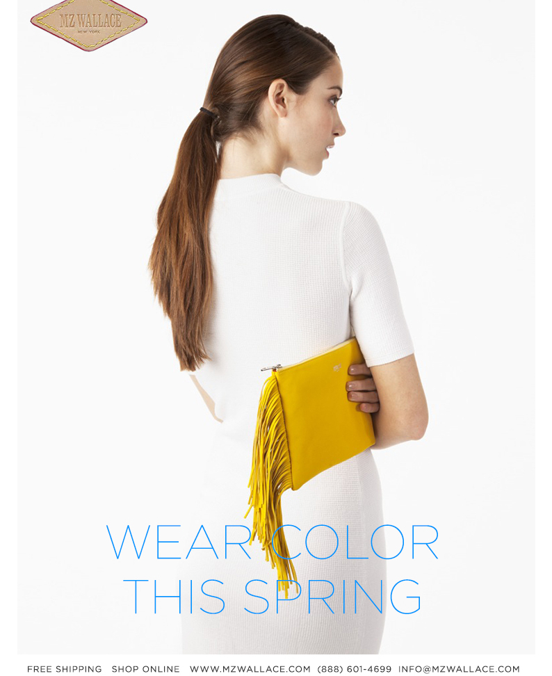 Wear Color this Spring. Shop the new collection online.