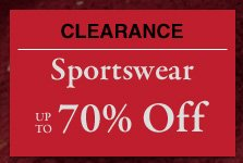 Clearance Sportswear - Up To 70% Off