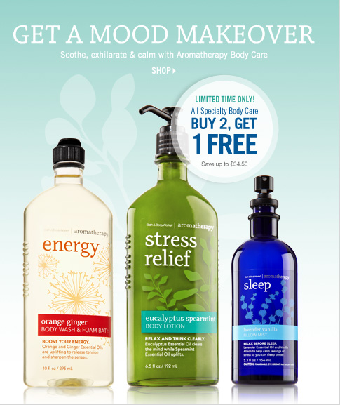 All Specialty Body Care - Buy 2, Get 1 Free