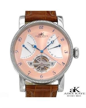 Brand New ADEE KAYE Stainless Steel and Leather Watch $85