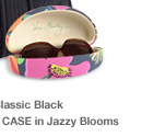 Hard Sunglass Case in Jazzy Blooms