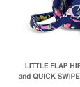 Little Flap Hipster in Ribbons