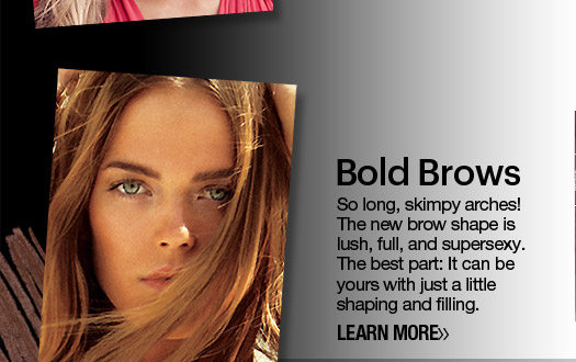 Spring Beauty Preview Bold Brows