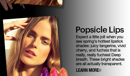 Spring Beauty Preview Popsicle Lips