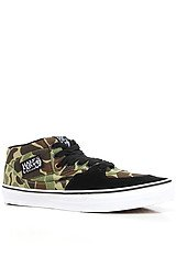 The Half Cab Sneaker in Green Camo