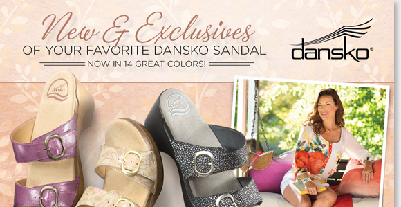 Your favorite sandal from Dansko just got better! Shop the new and exclusive Sophie styles, now available in 14 great colors for every occasion. From the bestselling 'Black Shagreen,' to the new 'Violet' and 'Tan Vine' colors, we have all the Dansko Sophie colors and styles you want for spring. Shop now for the best selection at The Walking Company.