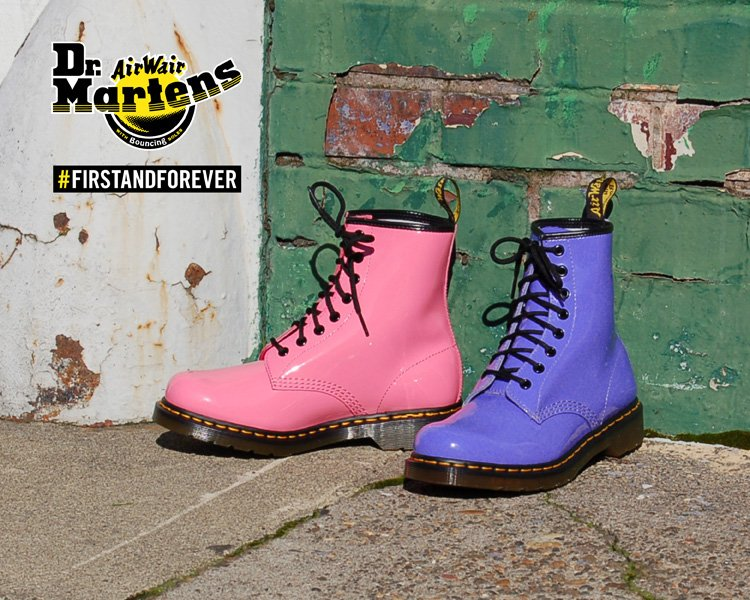 It's Electric! Check Out New Arrivals from Dr. Martens.