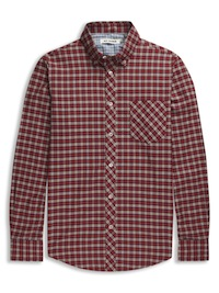 Mini Mod Check Cotton Shirt
