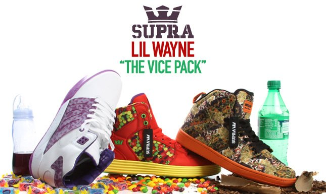 Shop the NEW Lil Wayne Vice Pack from Supra on KL