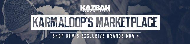 Shop Karmaloop's New Marketplace Kazbah