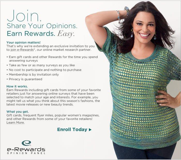 Join eRewards Now!