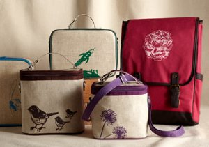 Playful Prints: Backpacks & Lunchboxes