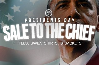 Sale To The Chief: Tees, Sweatshirts, & Jackets