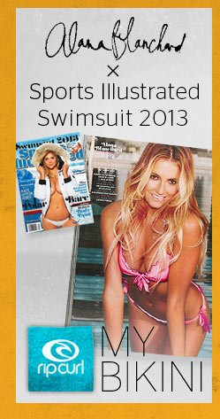 Alana Blanchard x Sports Illustrated Swimsuit 2013 - My Bikini -Shop Now