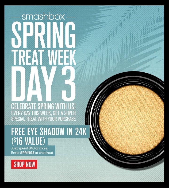 Spring Treat Week: Day 3