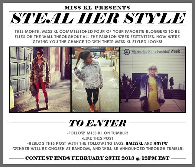 Miss KL Presents: Steal Her Style Fashion Week Contest