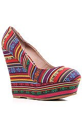 The Kimmy Shoe in Multi
