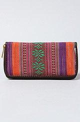 The Multi Color Zip Wallet