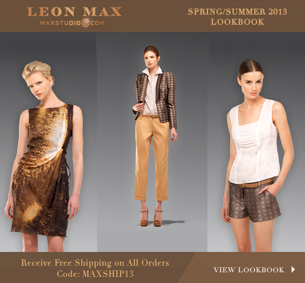 maxstudio spring/summer 2013 lookbook