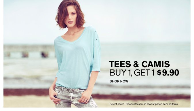 Shop Women's Tees & Camis