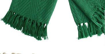 New Knit Herringbone Throw $49.95