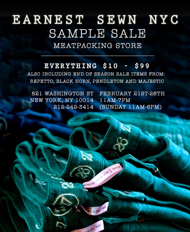 NYC Sample Sale