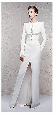 Shop the White Embellished Floor Length Dress