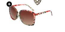 Floral Printed Oversized Sunglasses