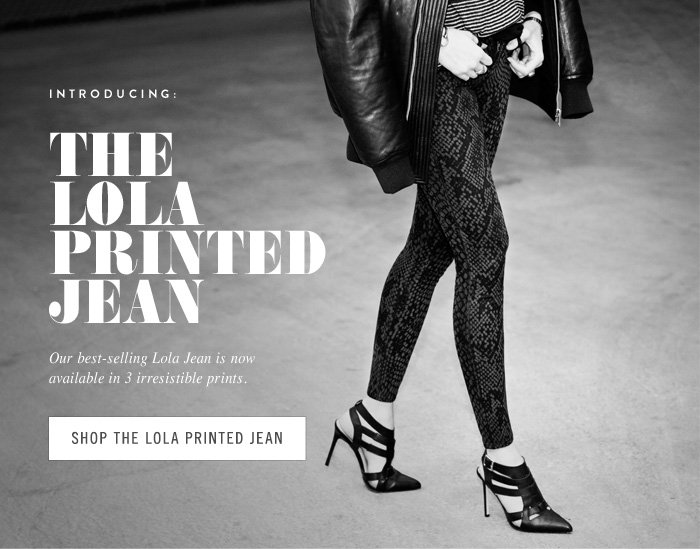 The New Lola Printed Jean