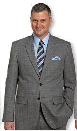 Traveler Technology™ Tattersall Suit Coat