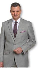 Traveler Technology™ Stepweave Suit Coat