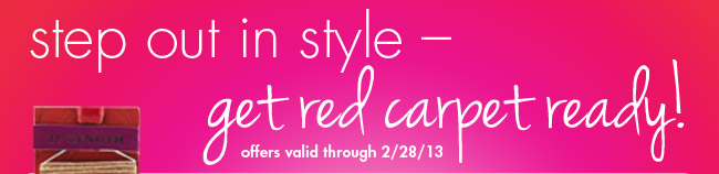 step out in style-get red carpet ready!
