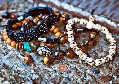 Shop Natural Accents: Shamballa & Wood