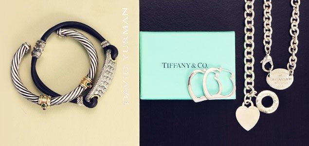 Designer Silver Jewelry: David Yurman, Tiffany & Co. and More