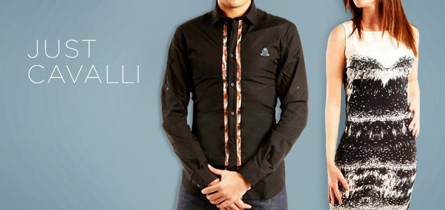 Just Cavalli Apparel & Accessories for Him & Her