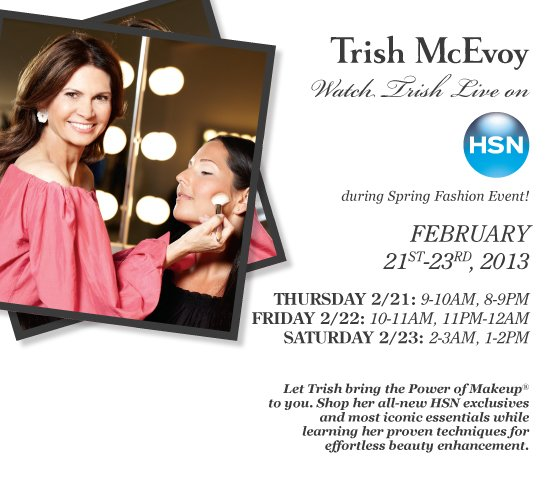 Starts Now! Don't Miss Trish LIVE on HSN 2/21-23!