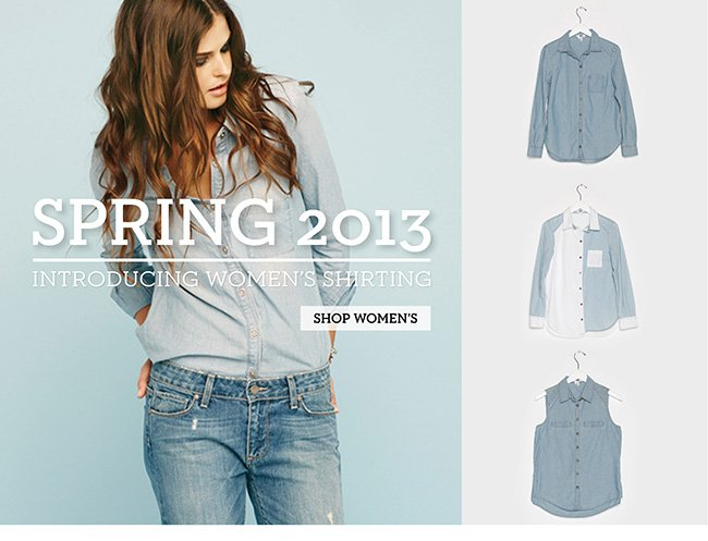 Introducing Women's Shirting