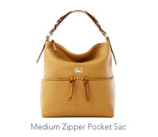 Medium Zipper Pocket Sac