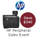 HP Peripheral Sales Event. Save $340.