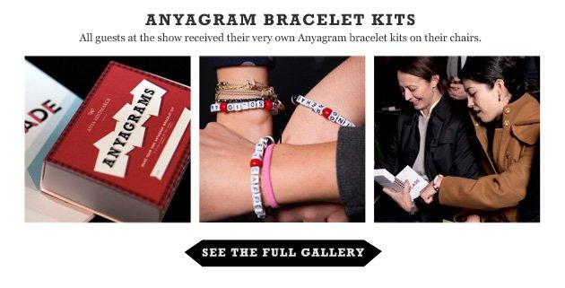Anyagrams bracelet kits