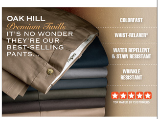 Oak Hill Twill Pants