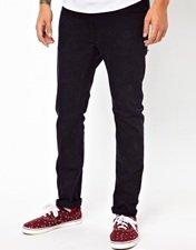 WESC Alessandro Skinny Jeans Acid Wash