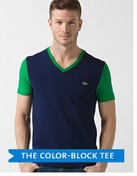 THE COLOR-BLOCK TEE