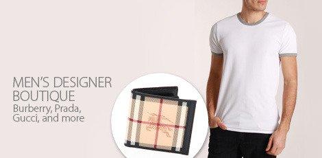 mens designer boutique
