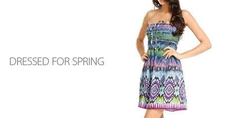 Dressed for spring